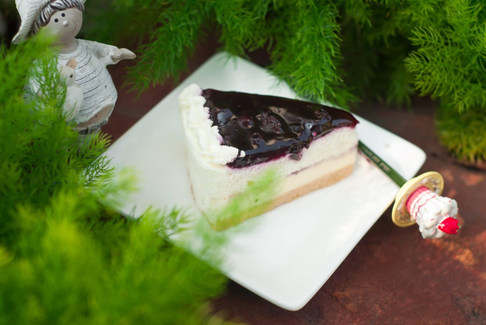 บลูเบอร์รี่ชีสเค้ก