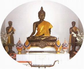 พระพุทธโลกเชษฐ์กาญจนมงคลเขต ประจำมหาวิทยาลัยราชภัฏกาญจนบุรี
