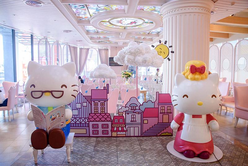 คาเฟ่สุดน่ารัก Hello Kitty House Bangkok