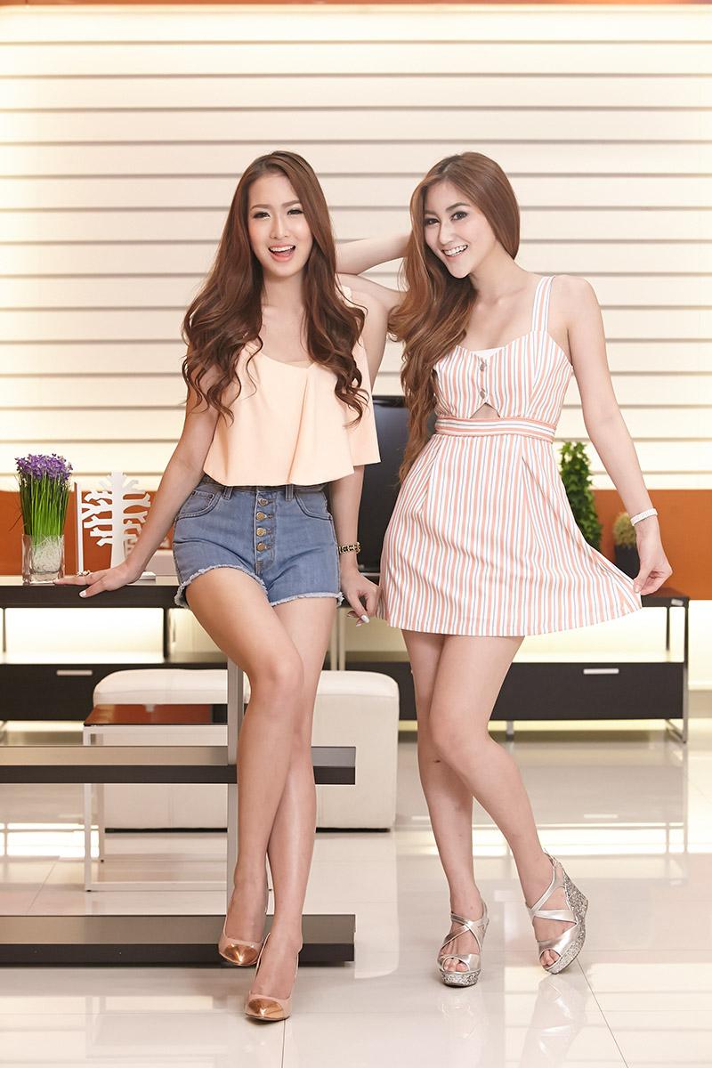 2 สาวสวย ฮาย กุลนิดา และ เจล จุฑาลักษณ์