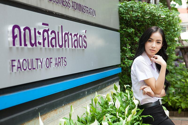 dpu gaia rania คณะศิลปศาสตร์ นักร้อง ม.ธุรกิจบัณฑิตย์ มธบ เกิร์ลกรุ๊ป