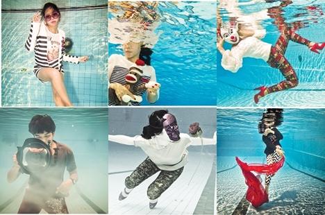 rmutk คณะวิทยาศาสตร์และเทคโนโลยี ผลงานนักศึกษา มทร.กรุงเทพ แฟชั่นใต้น้ำ