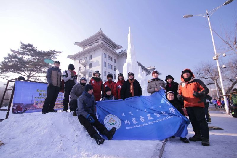The 8th International Collegiate Snow Sculpture Contest 2016 นักเรียนอาชีวะ อาชีวะไทย แกะสลักหิมะนานาชาติประจำปี 2559
