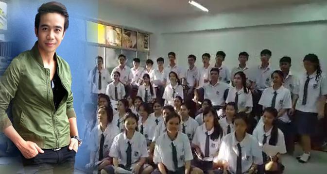 cover คลิปเด็กนักเรียน นักเรียน วงขับร้องประสานเสียง โรงเรียนสารสาสน์วิเทศ บางบอน ไสว่าสิบ่ถิ่มกัน