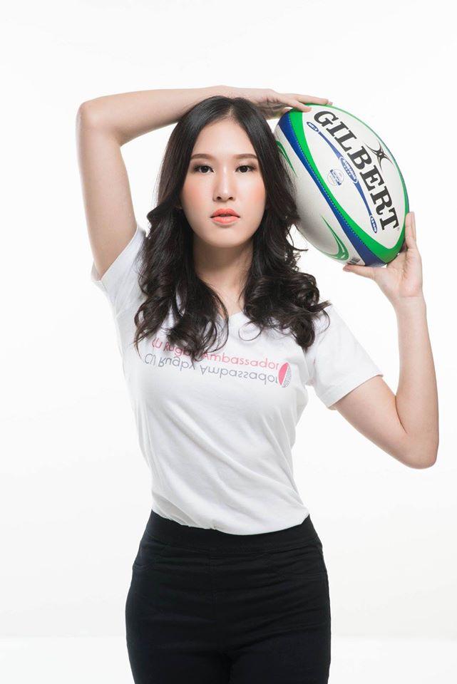 CU Rugby Girl จีน 1