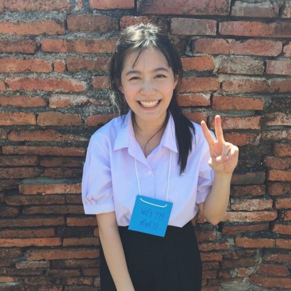 น่ารักได้อีก! ฟรัง นรีกุล หรือ ออย ฮอร์โมน ในชุดนักเรียน (9)