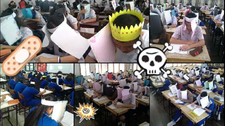 การสอบ การแก้ปัญหา ข่าวทั่วไป หมวกกระดาษ