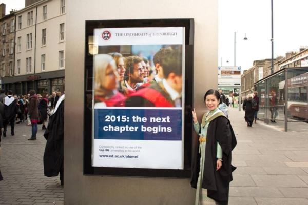 แพทย์หญิงสวมชุดไทย รับปริญญาที่ University of Edinburgh (7)