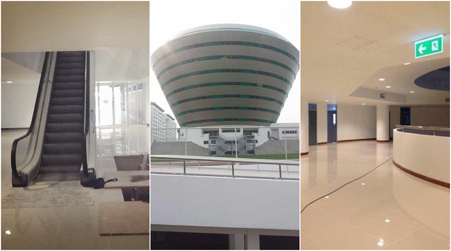 อาคารเรียน โฉมใหม่ โยธินบูรณะ โรงเรียน โรงเรียนรัฐ