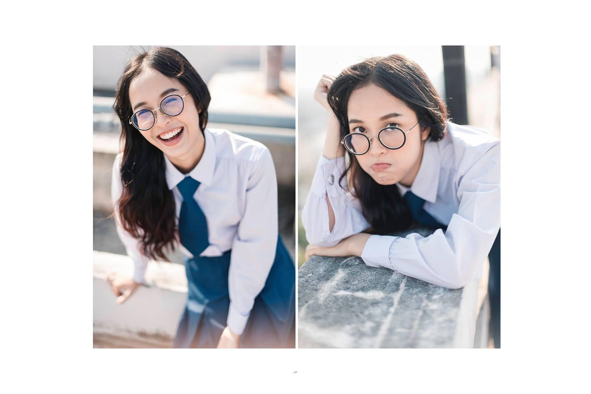 ดาราในชุดนักศึกษา นักเรียน สาวน่ารัก สาวหน้าใส เจ้าหญิงดิสนีย์