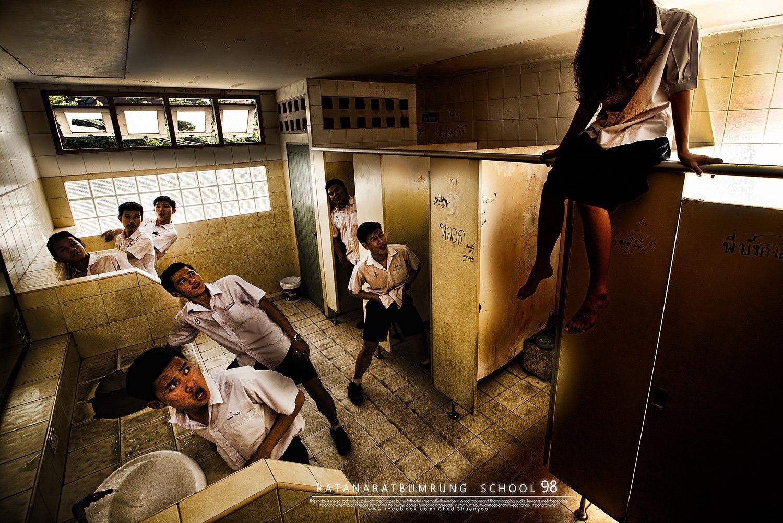 เรื่องเล่าผีในห้องน้ำ ตำนานทีมีทุกโรงเรียน