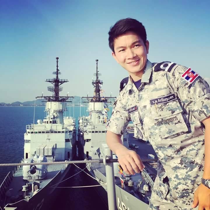 7. พัทรพงศ์ ชาลีรินทร์ ทหารเรือ