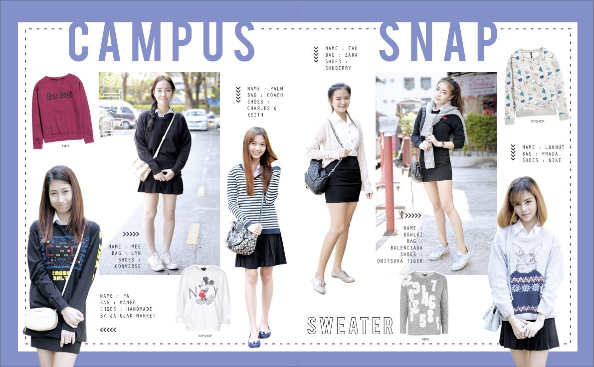 CAMPUS SNAP Issue34 แฟชั่นนักศึกษา