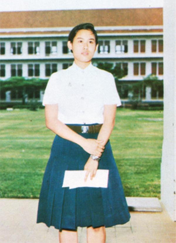 รวมภาพ พระเทพฯ เมื่อครั้งทรงศีกษาในมหาลัยไทย (9)