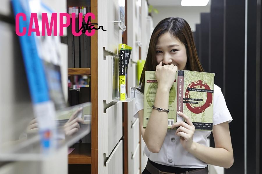 About Campus issue36 คณะบริหารธุรกิจ ดาวคณะ มะปราง-จิตธดี