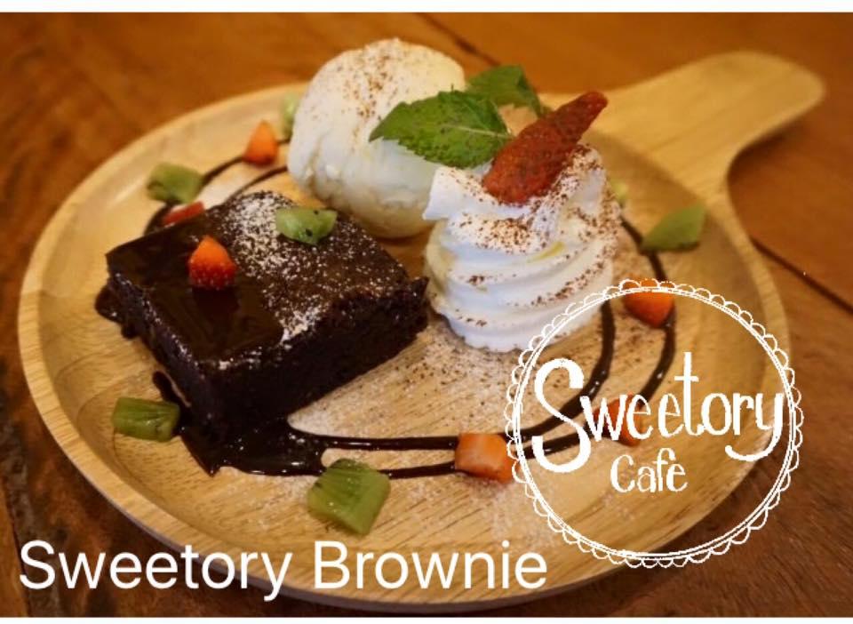 Sweetory Cafe ร้านอร่อย ที่เด็ก ม.เกษตร คอนเฟิร์ม