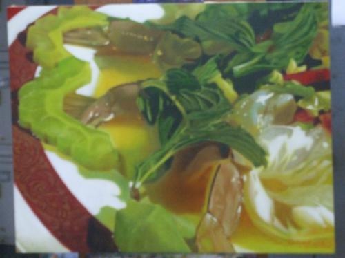 ภาพวาดอาหารสวยสมจริงมาก ฝีมือของนศ (20)