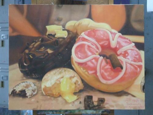 ภาพวาดอาหารสวยสมจริงมาก ฝีมือของนศ (25)