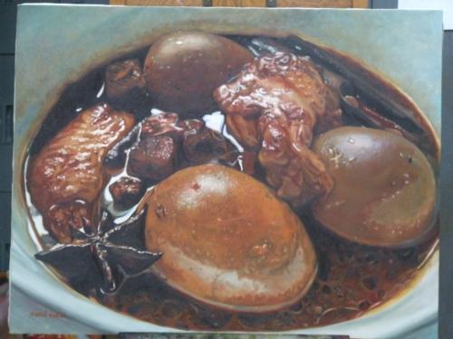 ภาพวาดอาหารสวยสมจริงมาก ฝีมือของนศ (39)