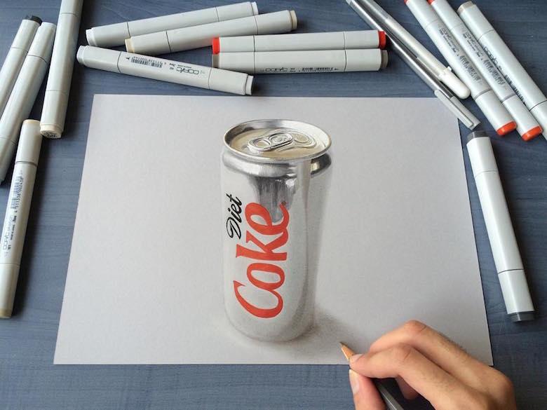 ภาพวาด 3 มิติ ฝีมือนักศึกษาจากมุมไบ สวยงาม เหมือนจริงมากๆ (5)