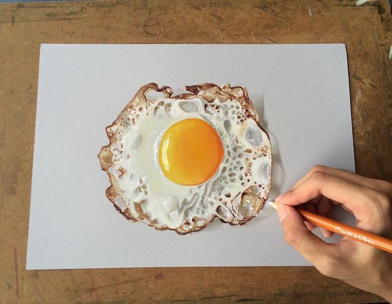 ภาพวาด ภาพวาด3มิติ ศิลปะ