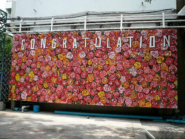 สวยงาม! ภาพจิตรกรรมบนฝาผนัง (รวมงาน mural คณะมัณฑนศิลป์ ศิลปากร) (29)