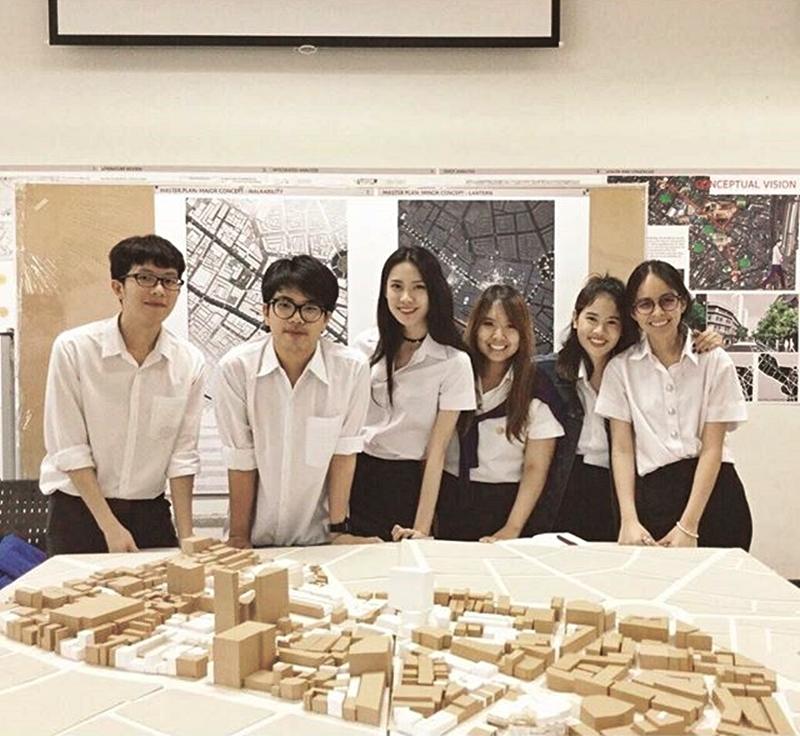 โปรเจคจบของสาวสถาปัตย์ นัตโตะ the face thailand 2 อลังการไม่เบา!! (25)