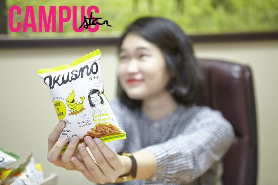 issue36 okusno คางกุ้งอบกรอบ นักธุรกิจอายุน้อย แพร-พิมพ์มาดา