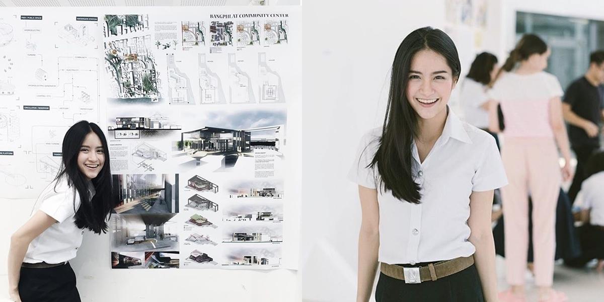 จุฬาลงกรณ์มหาวิทยาลัย ดาราตอนเด็ก ดารารับปริญญา สถาปัตย์ สาวหน้าใส แพร ณัฏฐธิดา