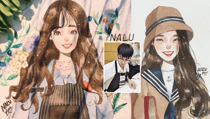 Interview NALU นักวาดภาพ วาดภาพ สัมภาษณ์พิเศษ สีน้ำ