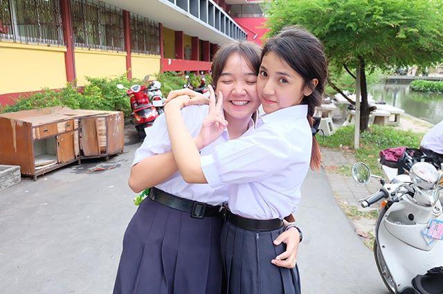 น่ารักใสๆ ปิ่น พรชนก เดอะสตาร์ ในชุดนักเรียน ม (2)