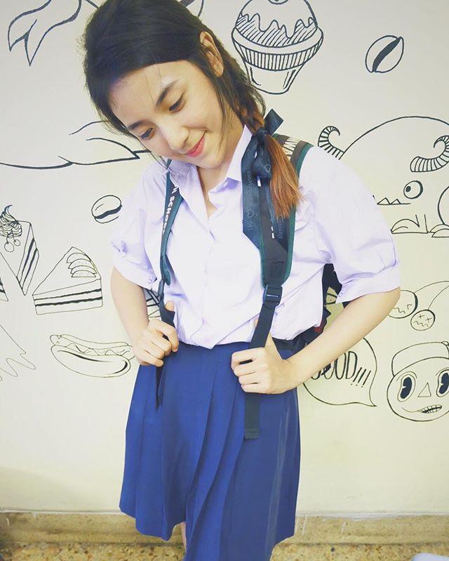 น่ารักใสๆ ปิ่น พรชนก เดอะสตาร์ ในชุดนักเรียน ม (4)