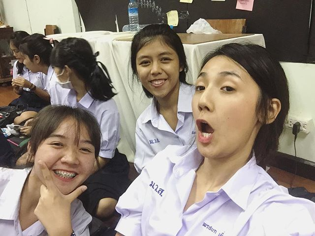 น่ารักใสๆ ปิ่น พรชนก เดอะสตาร์ ในชุดนักเรียน ม (8)