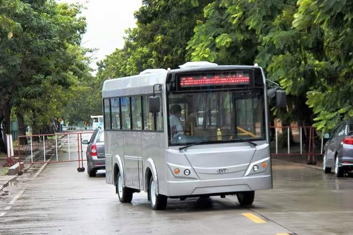 รถไฟฟ้าบริการนักศึกษา มทร. ธัญบุรี คลองหก1
