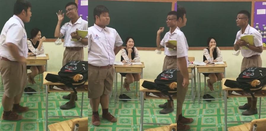 ครูน่ารัก นักเรียน โรงเรียนขามแก่นนคร