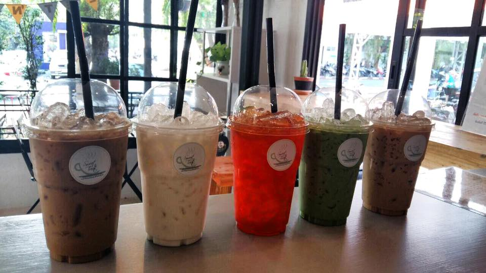 coffee shop coffeeshop Sweet 'n Treats ชิลเอ้าท์ มข รอบรั้วมหาวิท ร้านกาแฟ