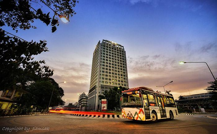 KKU Smart Transit ม.ขอนแก่น รถบัส รถราง