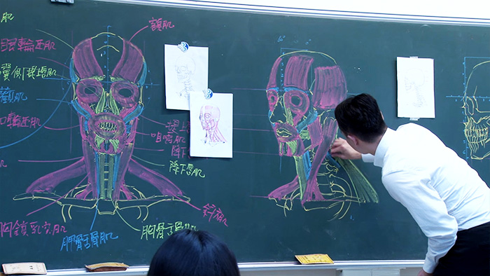 ครูวิทย์ไต้หวัน วาดรูปเก่ง