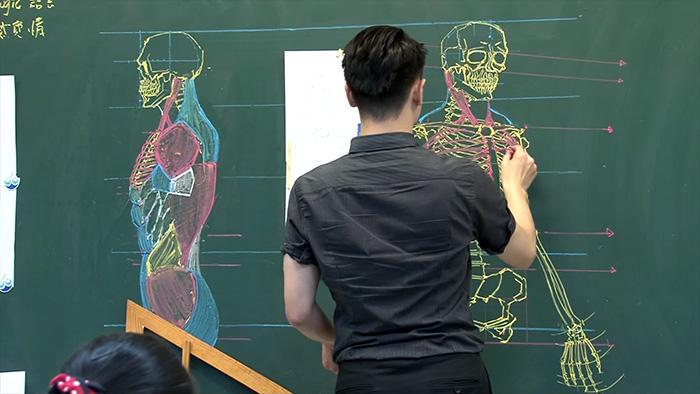 กายวิภาค คุณครู วาดภาพ อาจารย์หนุ่ม เรียนต่อไต้หวัน