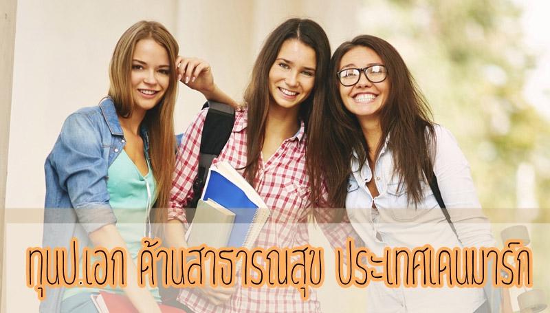 ทุนการศึกษา ประเทศเดนมาร์ก เรียนต่อต่างประเทศ เรียนต่อสาธารณสุข