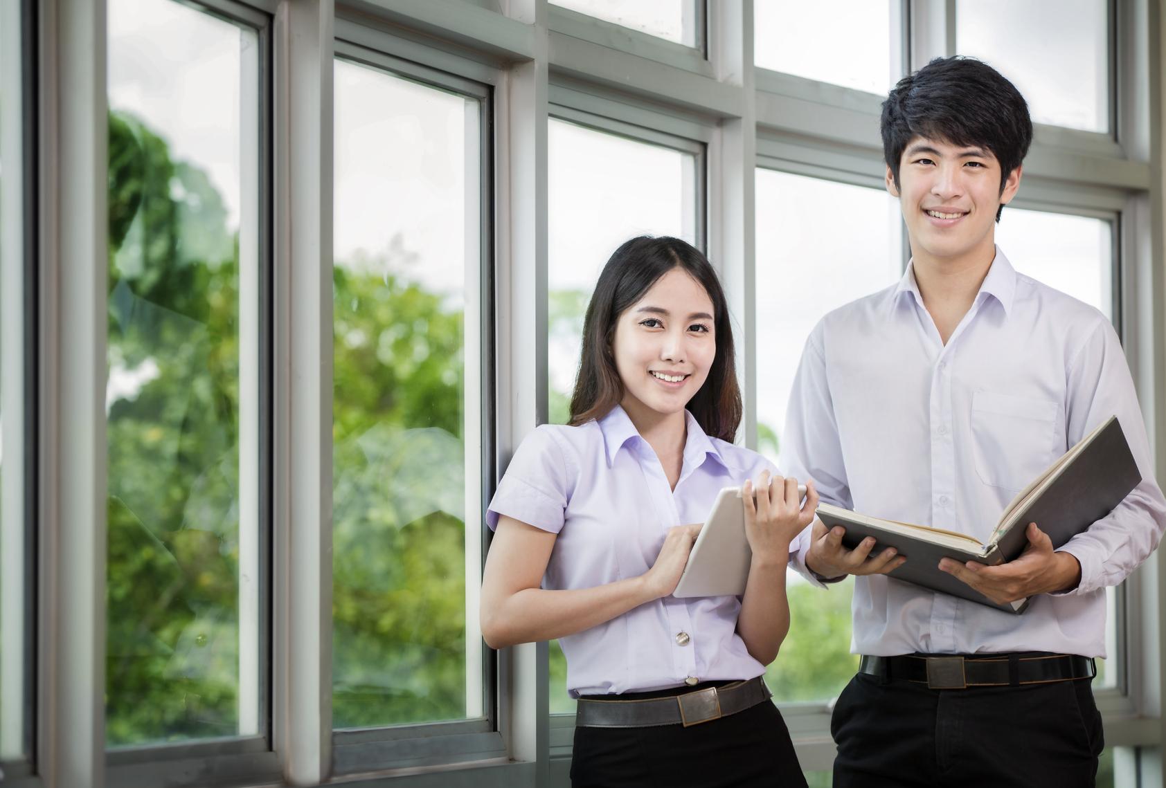 นักศึกษาใหม่ ปริญญาตรี มหาวิทยาลัย รับตรง วิทยาลัยนานาชาติ สวนสุนันทา