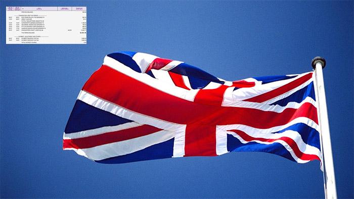 statement ขอวีซ่าเรียนต่ออังกฤษ สมุดบัญชีธนาคาร เรียนต่อต่างประเทศ