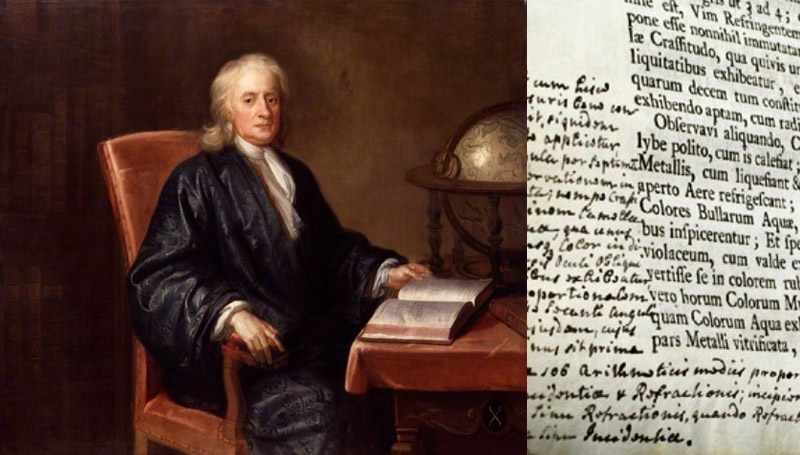 Newton นักวิทยาศาสตร์ นิวตัน เคล็ดลับการอ่านหนังสือ เซอร์ไอแซก นิวตัน