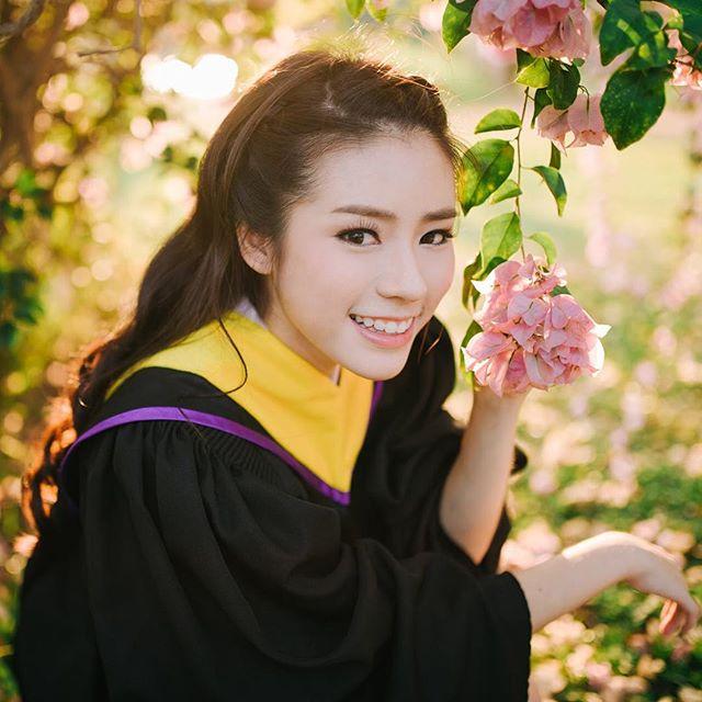 cmu ดาราในชุดนักศึกษา ตูน ปาณิสรา วิทยาการคอมพิวเตอร์ สาวน่ารัก