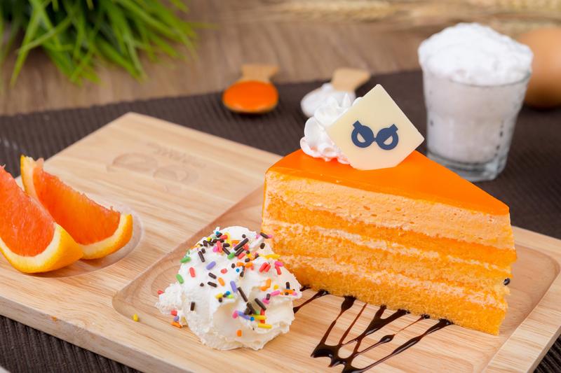 ขนมเค้กส้ม