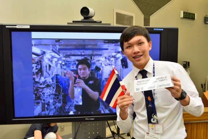 kmutt คณะวิศวกรรมศาสตร์ คนเก่ง งานวิจัย องค์การสำรวจอวกาศญี่ปุ่น
