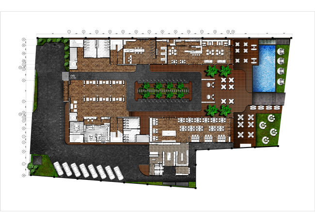 FURNITURE LAY-OUT PLAN 1