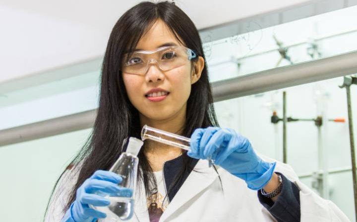 Shu Lam นักศึกษา ปริญญาเอก ยาปฏิชีวนะ เรียนต่อต่างประเทศ