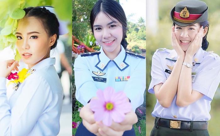 นักเรียน พยาบาลทหาร สาวน่ารัก สาวหน้าใส
