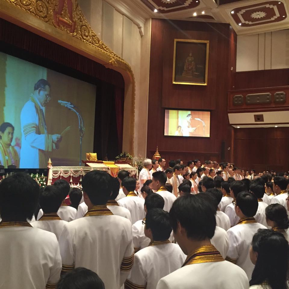 ปลื้มปีติ สมเด็จพระเทพฯ พระราชทานพระราโชวาทแก่บัณฑิตจุฬาฯ